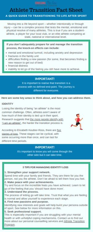 Athlete transition factsheet