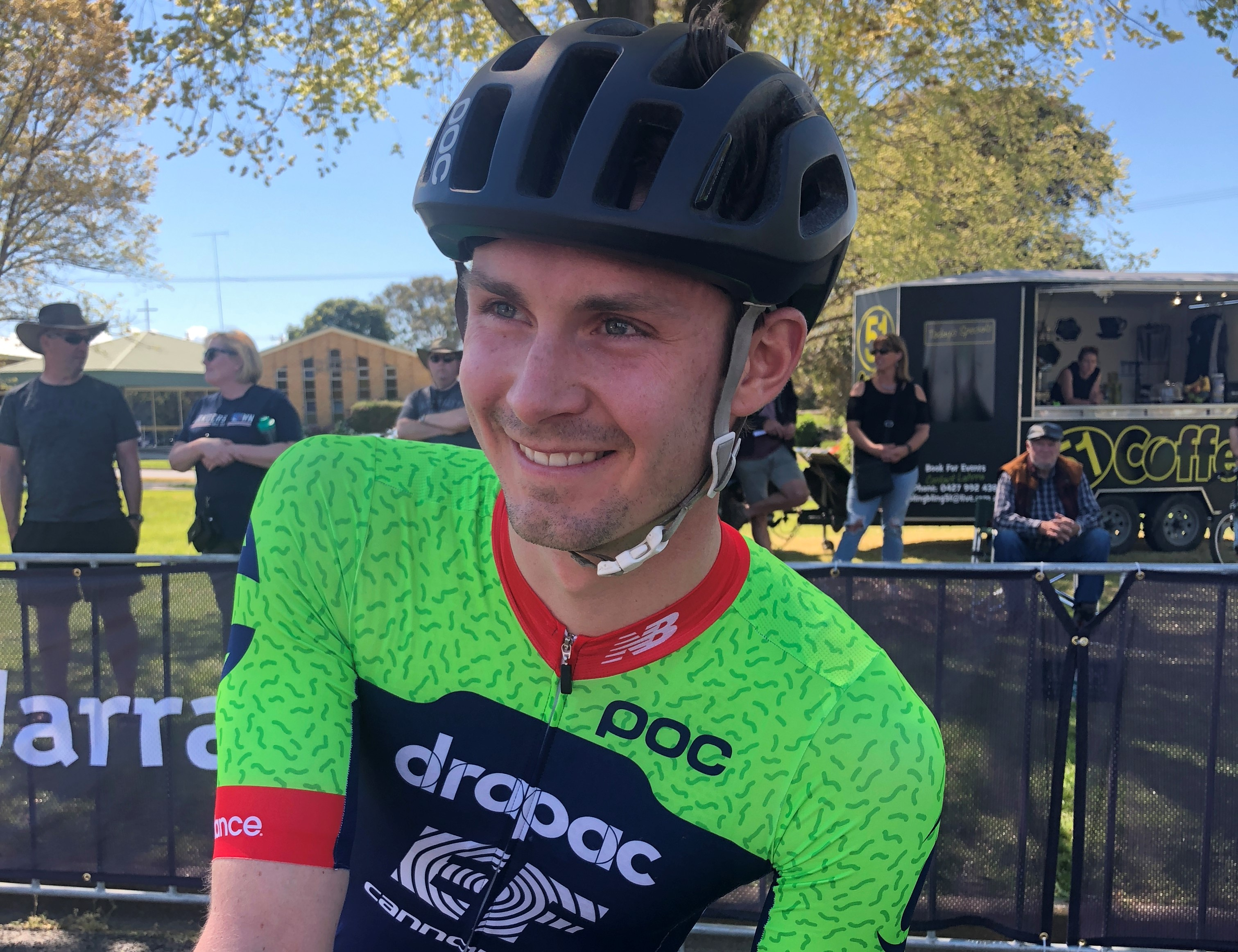 Oliver Kent-Spark Drapac cycling team