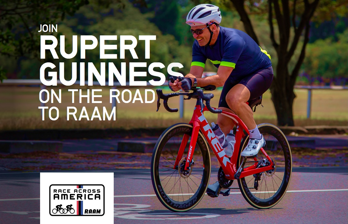 Ride with rupert RAAM